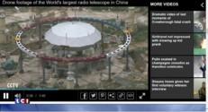 La Chine dévoile de nouveaux clichés du plus grand radiotélescope du monde