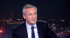 """Le 20 heures du 22 septembre 2014 : Bruno Le Maire : """"Je veux un parti 100% �roite"""" - 1147.09"""