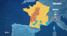 Météo : 21 départements en vigilance orange en raison d'orages violents
