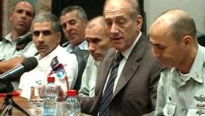 TF1/LCI : Ehud Olmert lors d'une réunion du cabinet israélien