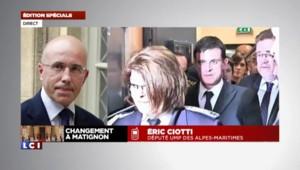 """Valls annoncé à Matignon : """"La démarche n'est pas maladroite"""" pour Ciotti"""