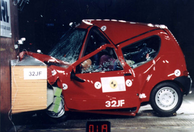 Fiat Seicento 1997 Crash-test EuroNCAP