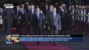 François Hollande en visite d'Etat au Mexique