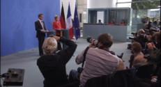 Le 20 heures du 22 septembre 2014 : Manuel Valls tente de convaincre Angela Merkel de la fiabilit�e la France - 1495.5568201904298