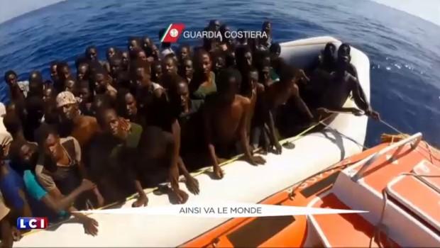 Nouveau naufrage de migrants au large des côtes libyennes.