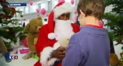Teddy Riner joue les Pères Noël
