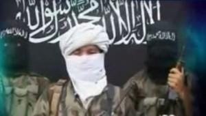 Chine : Image extraite d'une cassette de revendication du Parti islamique du Turkestan oriental