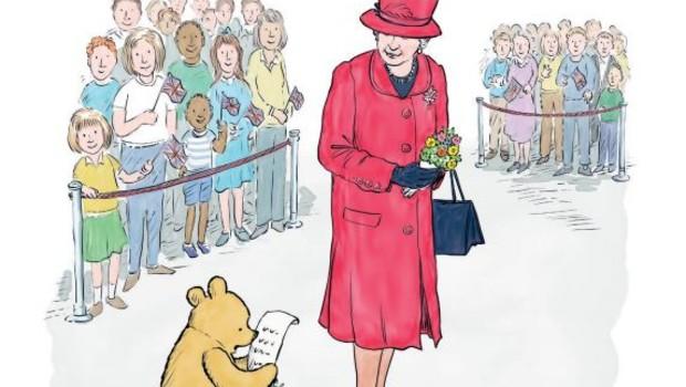 Elizabeth II Winnie the Pooh