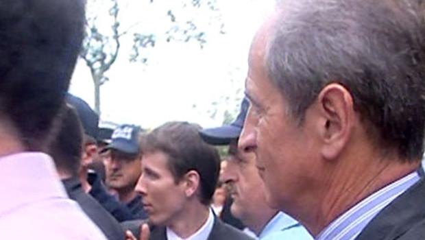 Hubert Falco pris à partie en Moselle 28 juillet 2008
