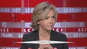 La présidente de la région Ile-de-France Valérie Pécresse était l'invitée du Grand jury sur LCI dimanche 10 janvier 2015.