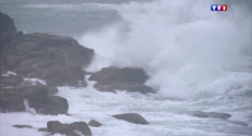 Le 13 heures du 2 juin 2015 : Paysage hivernale sur les côtes du Finistère - 58