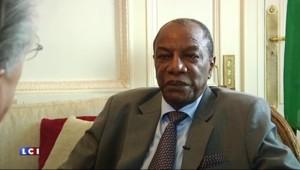 """Le président de Guinée sur l'immigration : """"Le plus grand scandale, c'est le silence de l'Afrique"""""""
