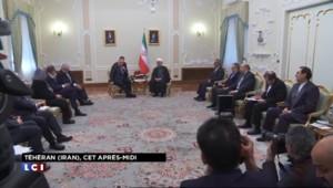Le président du Sénat Gérard Larcher en visite à Téhéran dimanche