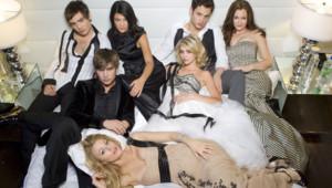 Les acteurs de la série Gossip Girl.