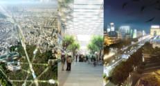 Les champs elysées en 2025 imaginés par un cabinet d'architecte