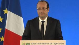 """Lors du Salon de l'Agriculture, le 23 février 2013, François Hollande a souhaité que l'UE mette en place """"un étiquetage obligatoire"""" de l'origine des viandes des plats cuisinés."""