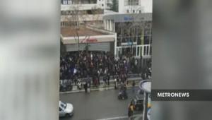 Manifestation anti-loi Travail : une centaine de lycéens saccagent un Franprix