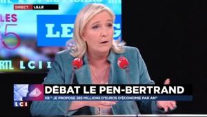 """Marine Le Pen : """"Les régions ont pris l'habitude d'externaliser tout"""""""