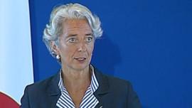 TF1/LCI Christine Lagarde